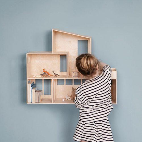ferm living miniature funkishus bauhaus dukkehus moderne formajour
