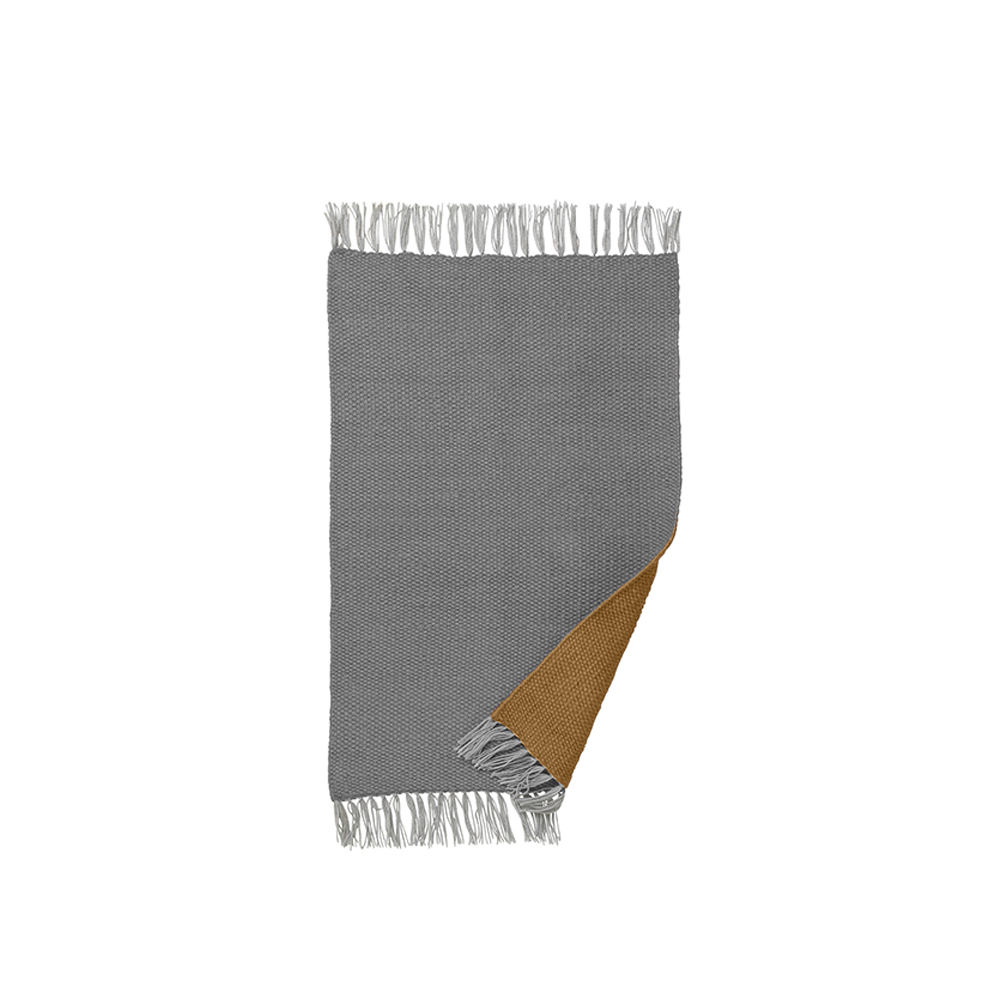 ferm living, Nomad Rug - Karry/Grå, small