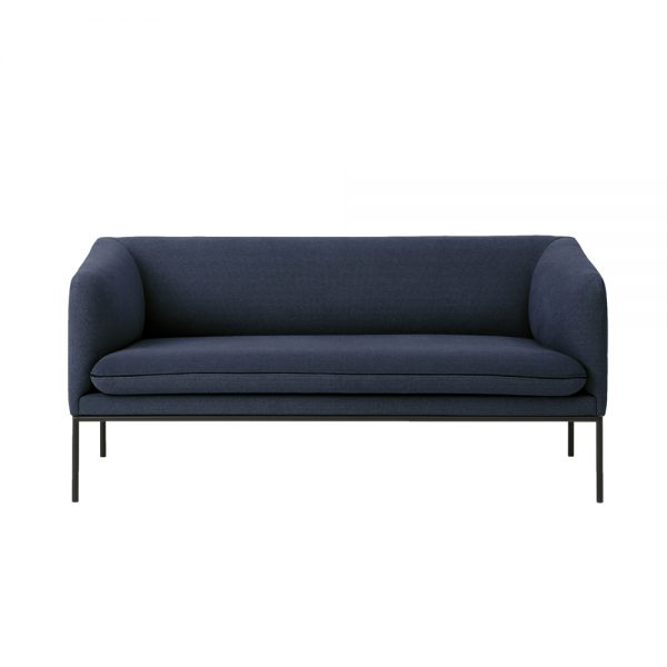 2 seater blue