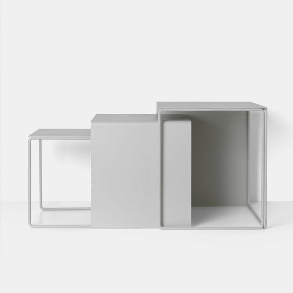 FERM LIVING, Cluster table – grå