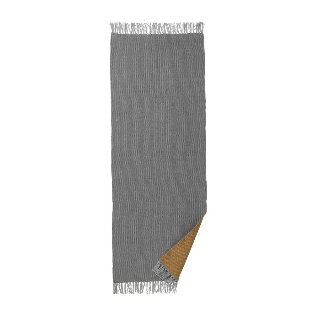 ferm living, Nomad Rug - Karry/Grå Large (70x180cm)