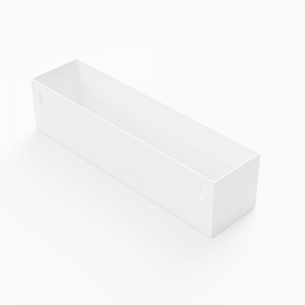 bath shelf white