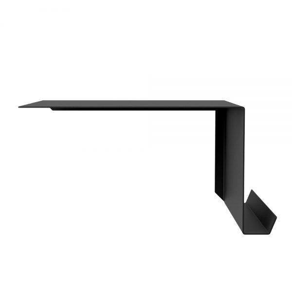 black right shelf