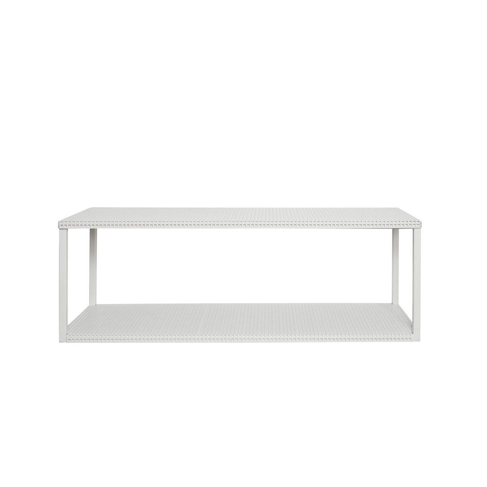 Kristina Dam, Grid wall shelf - Hvid