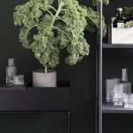 plant box black styling