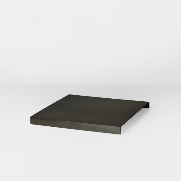 FERM LIVING, Tray for plant box – black brass