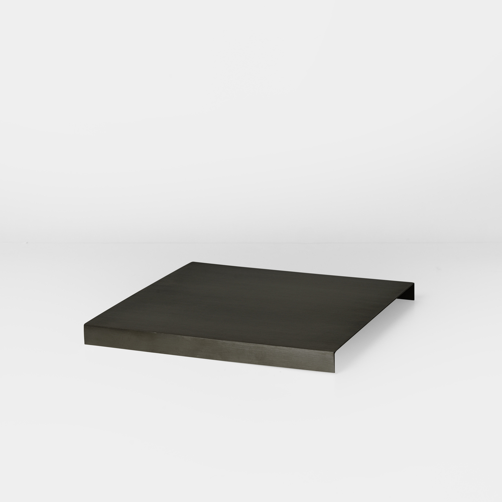 FERM LIVING, Tray for plant box - black brass
