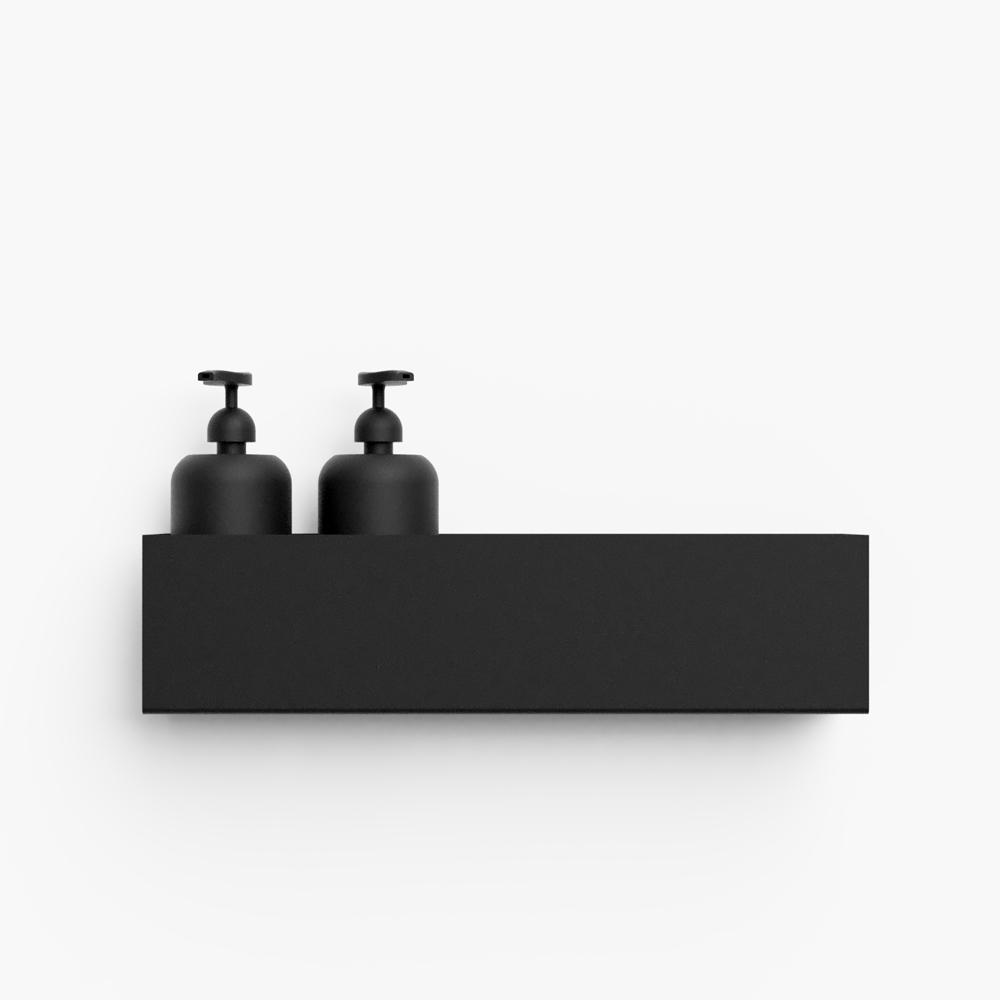Nichba - Bath shelf 40 cm - Sort