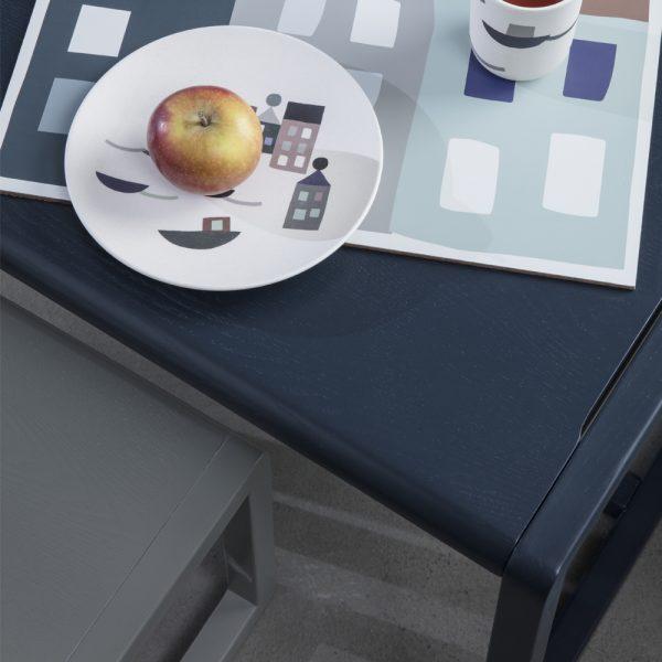 blue table little architect