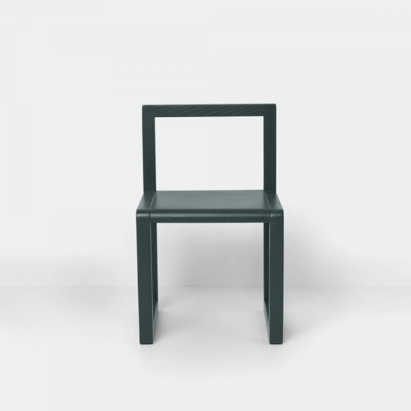 ferm living little architect chair green front
