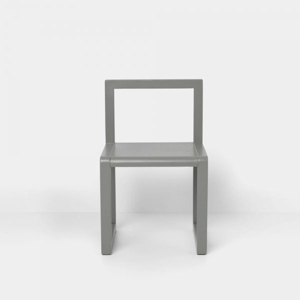 little architect chair grey front