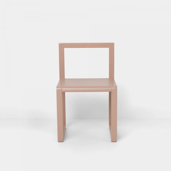 little architect chair rosa front