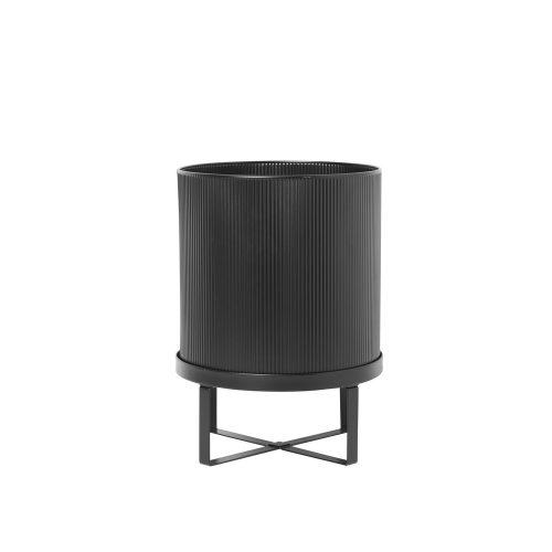 FERM LIVING, Bau Pot Black - large