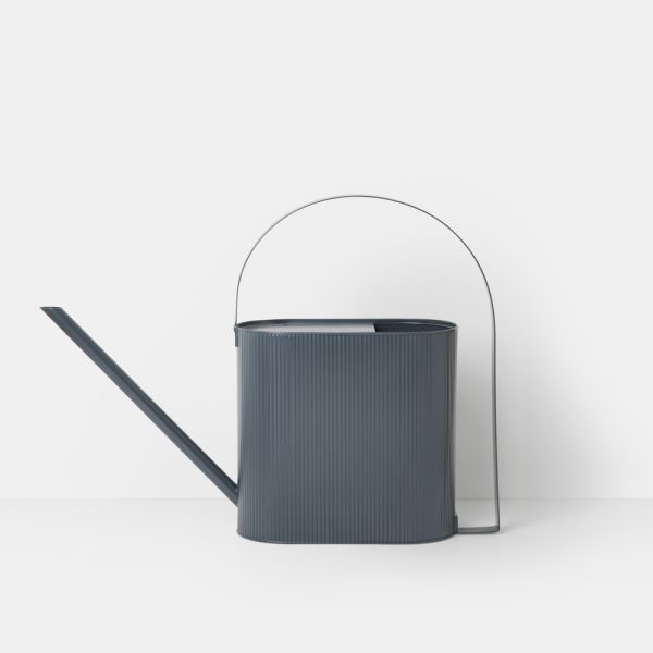ferm living bau watering can blue front