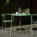 OK design point chair and table green