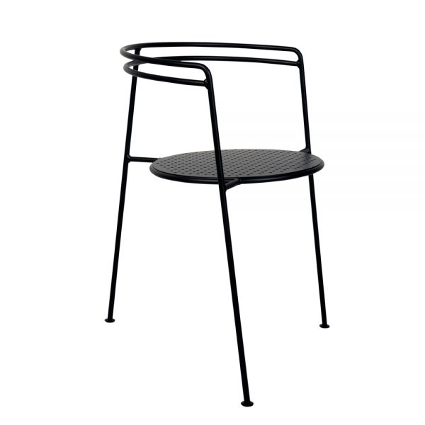 OK design point chair black