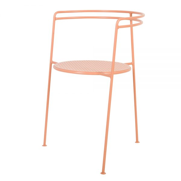 OK design point chair dusty peach