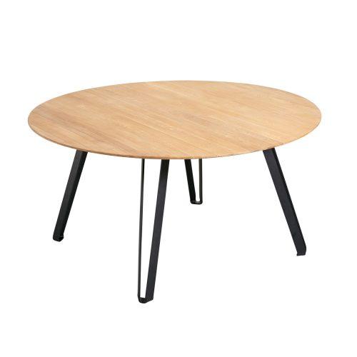 MUUBS - Spisebord Space, Olieret Eg Ø120