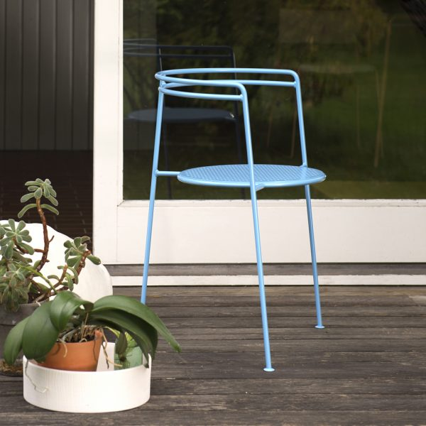 ok design point chair dusty blue