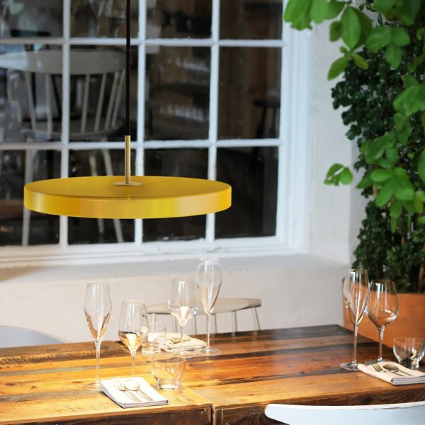 Umage Asteria yellow table