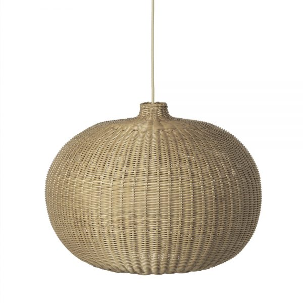 ferm living braided belly lamp