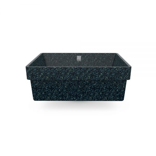 woodio cube 40 recessed arctic side