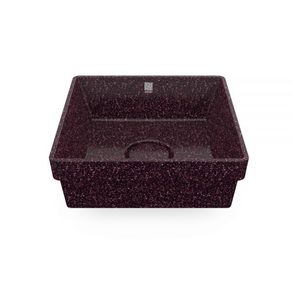 woodio cube 40 recessed berry top