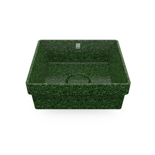 woodio washbasin cube 40 moss