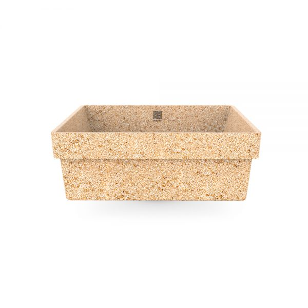 woodio cube 40 recessed natural front