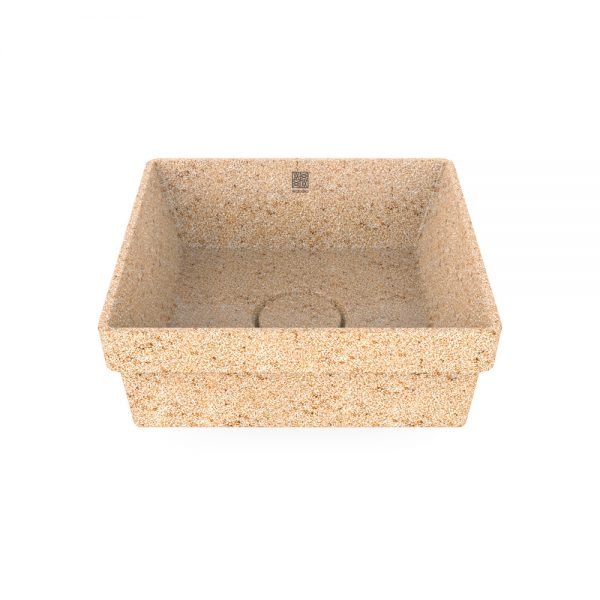 woodio cube 40 recessed natural top