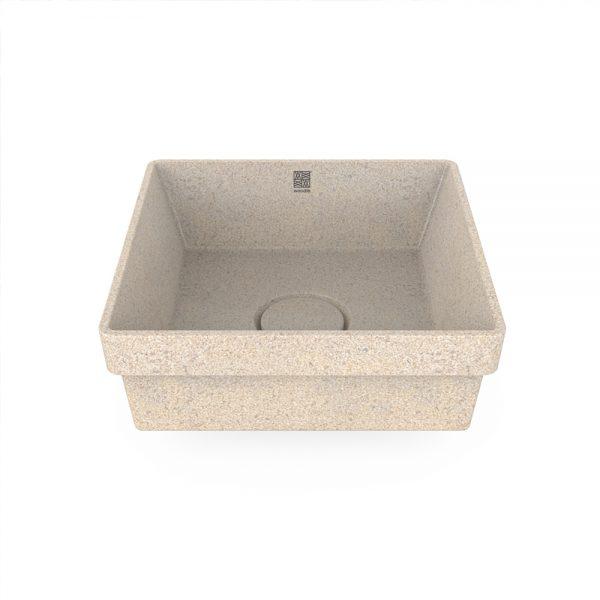 woodio cube 40 recessed polar top