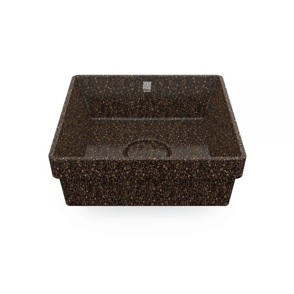 woodio cube 40 recessed root top