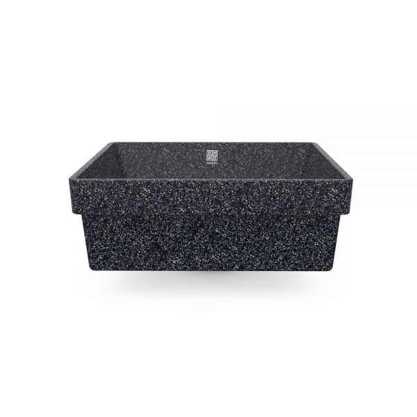 woodio cube 40 recessed stone side