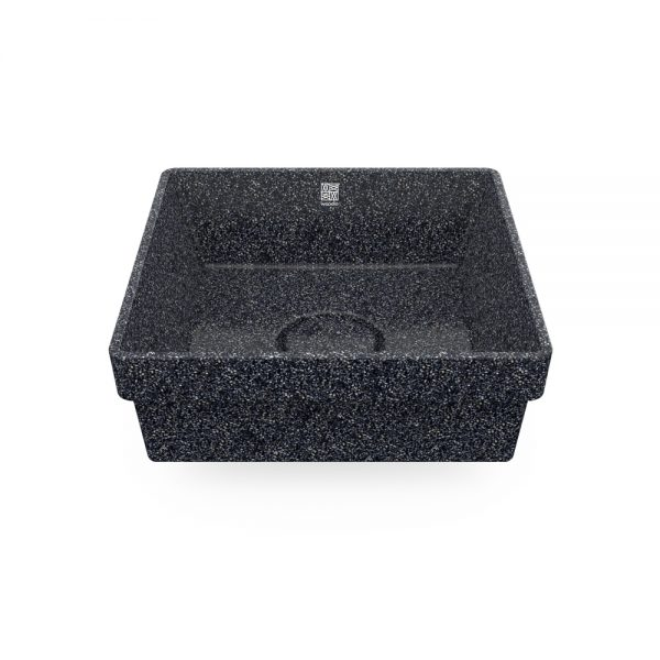 woodio cube 40 recessed stone top