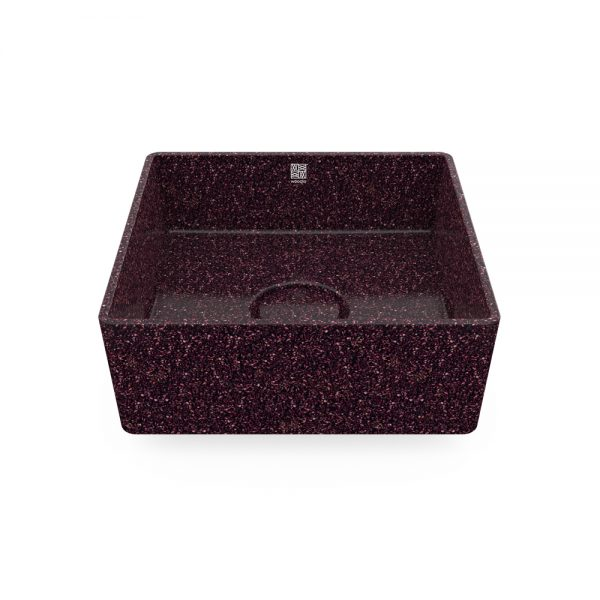 woodio cube 40 table top berry 1
