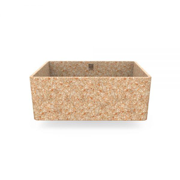 woodio cube 40 table top natural aspen 2