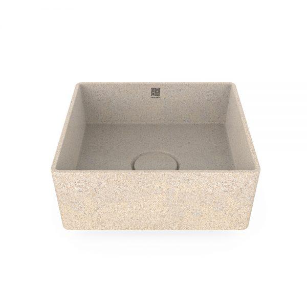 woodio cube 40 table top polar 1